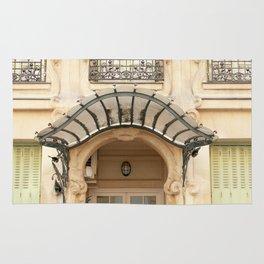 Paris art nouveau Rug