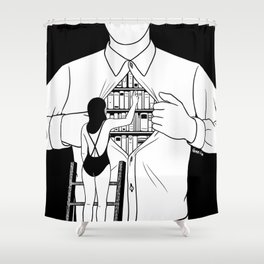 Read all about you Shower Curtain