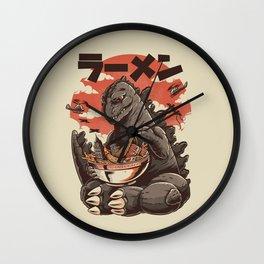 Kaiju's Ramen Wall Clock