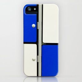 Gym Lockers iPhone Case