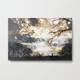 The drops of a Sunset Metal Print