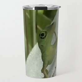Leaning Lizard Travel Mug