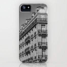 Paris architecture iPhone Case