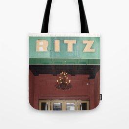 Vintage Ritz Tote Bag
