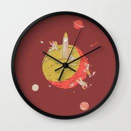 Duif print #2 Wall Clock