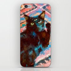 Black Cat iPhone & iPod Skin