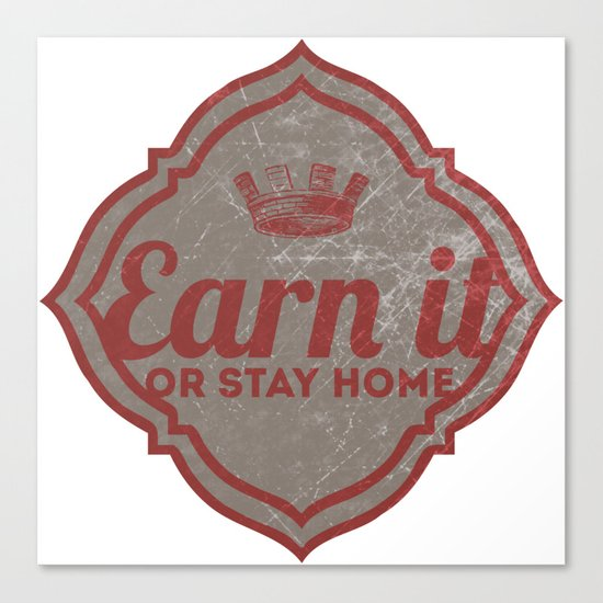 Earn It E-dub Canvas Print