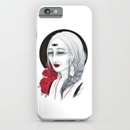 Moon Mother Matriarch iPhone Case