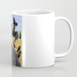 Crows in Tuscany Coffee Mug