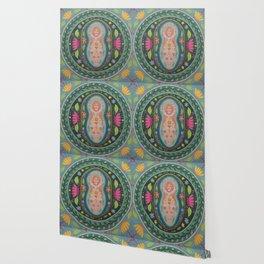 Spring Goddess Mandala Wallpaper