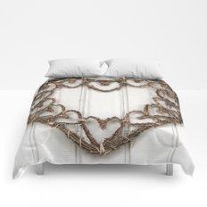 Heart of Twigs Comforters