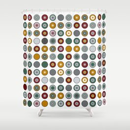 Circles Too Shower Curtain