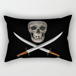 A Pirate's Blades Rectangular Pillow