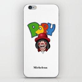 Ponte Popy / Popy Art iPhone Skin
