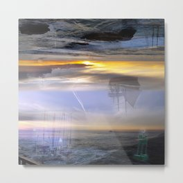 Nautical Dreams Metal Print