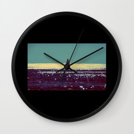 At Sea Wall Clock