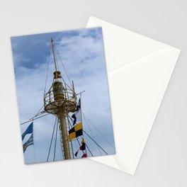 Light Vessel Mast Stationery Cards