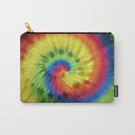 Boho Spiral Tie Dye Pattern Carry-All Pouch