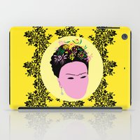 frida iPad Cases featuring Frida by Emmanuelle Ly