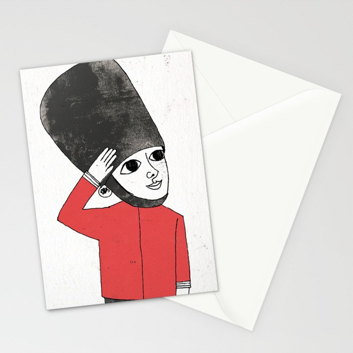 Little Soldier Stationery Cards