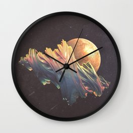 "Glitch art, ""Dragon Egg"" 2014 Wall Clock"