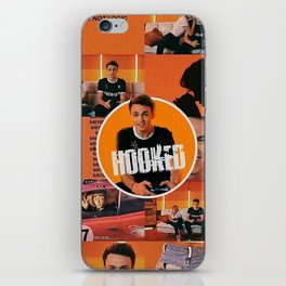 Hooked wd w music iPhone Skin