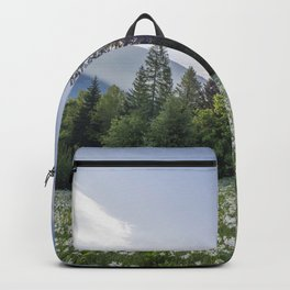 Spring by the Cottage in the Mountains Backpack