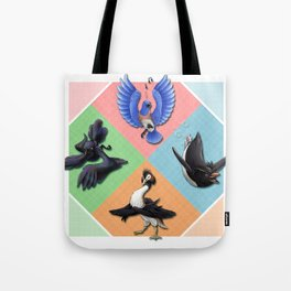 The Birds of Ness Tote Bag