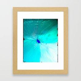 Negative Bloom Framed Art Print