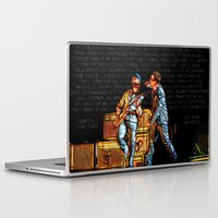 u2 Laptop & iPad Skins featuring U2 / Bono / Edge / Until The End Of The World by JR van Kampen