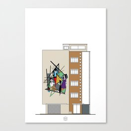 Edificio Rohen III Canvas Print