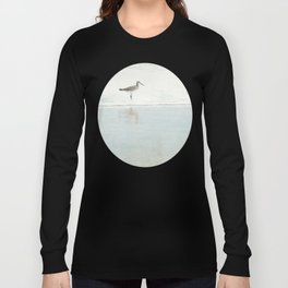 Reflecting Sandpiper Long Sleeve T-shirt