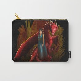 Queen of the Dragon iPhone, ipod, ipad, pillow case and tshirt Carry-All Pouch