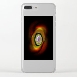 Feral Point of View Clear iPhone Case