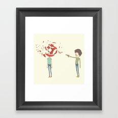 shoot Framed Art Print