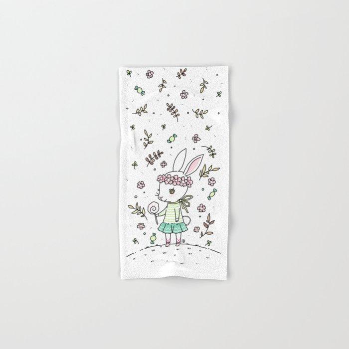Summer Bunny Hand & Bath Towel
