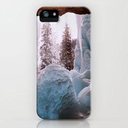 Hanging Lake Spouting Rock at Glenwood Canyon Glenwood Spring Area Colorado. iPhone Case