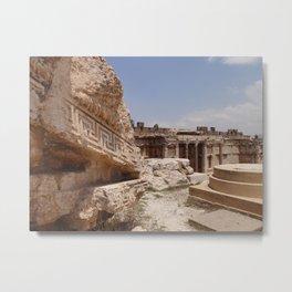 Ancient Remains Metal Print