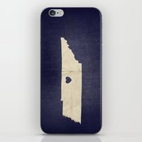 nashville iPhone & iPod Skins featuring Nashville, Tennessee by Fercute