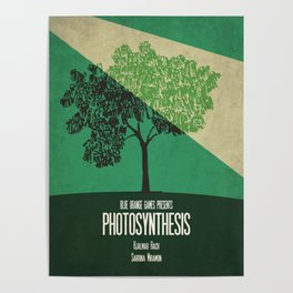 Photosynthesis - Minimalist Board Games 10 Poster