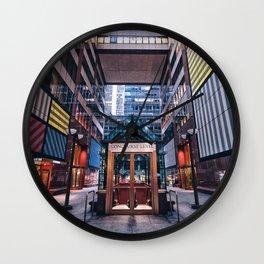 6½ Avenue Wall Clock