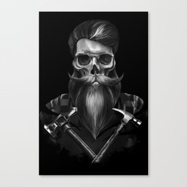 Immortal worker Canvas Print