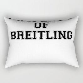 Property of BREITLING Rectangular Pillow
