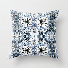 Kaleidoscope Crystals Throw Pillow