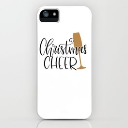 Christmas cheer shirt iPhone Case