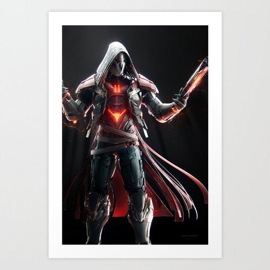 Reaper v1 Art Print