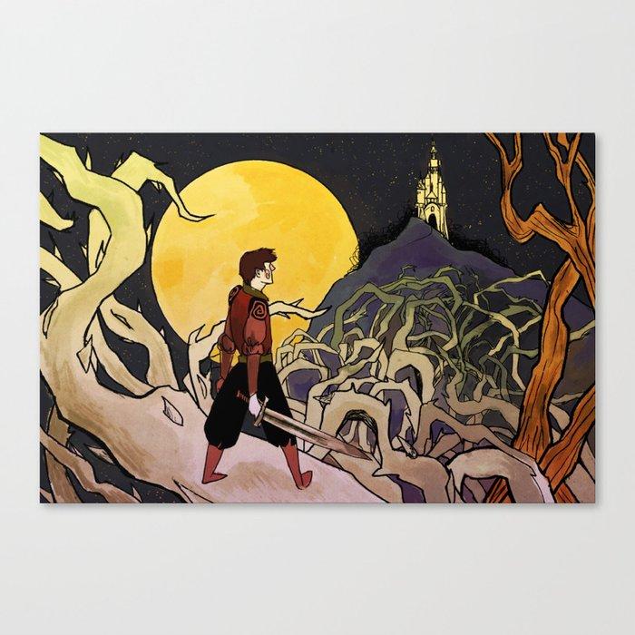 Briar Rose Canvas Print