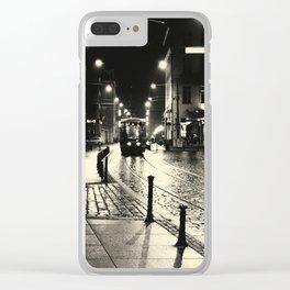 Night Train v2 Clear iPhone Case
