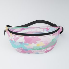 Summer Colors Abstract Fanny Pack