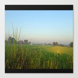 The Farmers Field Canvas Print
